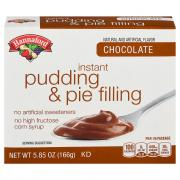 Hannaford Chocolate Instant Pudding Mix
