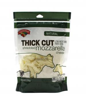 Hannaford Natural Thick Cut Shredded Mozzarella Cheese