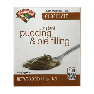 Hannaford Instant Chocolate Pudding Mix