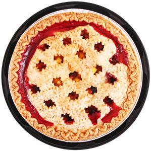 "Hannaford 9"" Peach Blueberry Pie"