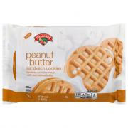 Hannaford Peanut Butter Sandwich Cookies