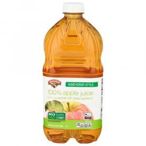 Hannaford Honey Crisp Apple 100% Juice