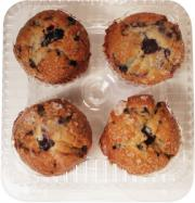 Double Blueberry Filled Muffins