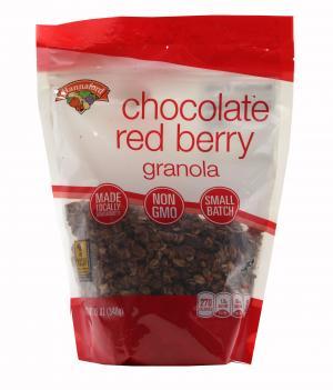 Hannaford Chocolate Red Berry Granola