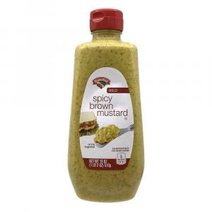 Hannaford Spicy Brown Mustard