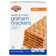 Hannaford Honey Graham Crackers Sweet & Crispy