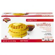 Hannaford Homestyle Waffles