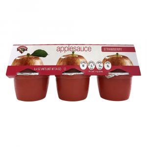 Hannaford Strawberry Applesauce