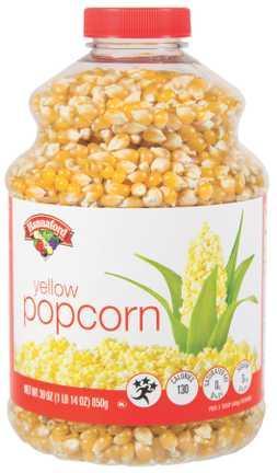 Hannaford Yellow Popcorn