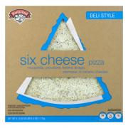 "Hannaford Deli Style 16"" Six Cheese Pizza"