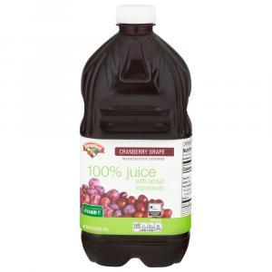 Hannaford Cranberry Grape 100% Juice Blend