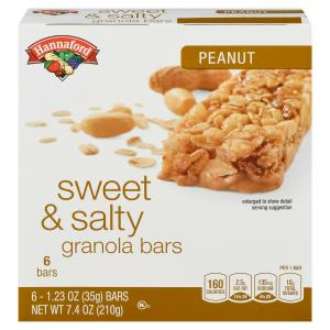 Hannaford Sweet & Salty Granola Bars