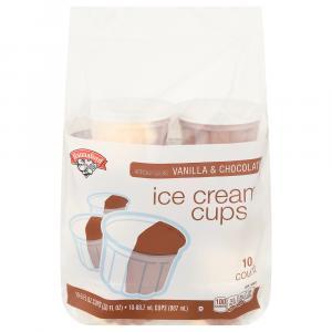 Hannaford Vanilla & Chocolate Ice Cream Cups