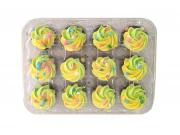 Hannaford Mini Spring Chocolate Cupcakes