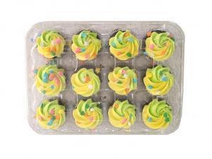 Hannaford Mini Spring Chocolate Cupcakes