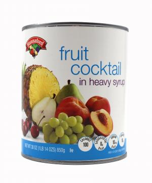 Hannaford Fruit Cocktail in Syrup