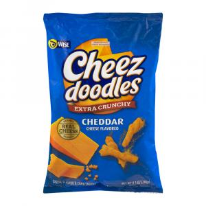 Wise Cheez Doodles Extra Crunchy Cheddar