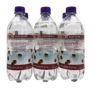 Hannaford Black Cherry Sparkling Water