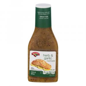 Hannaford Herb & Garlic Marinade