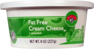 Hannaford Soft Fat Free Cream Cheese Tub