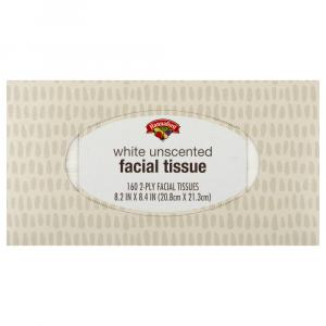Hannaford 2-ply Facial Tissue