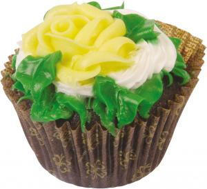 Jumbo Chocolate Cupcake With Vanilla Traditional Icing