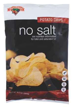 Hannaford No Salt Potato Chips