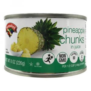 Hannaford Chunk Pineapple in Juice