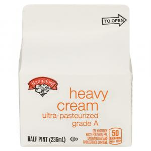 Hannaford Heavy Cream