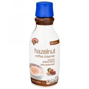 Hannaford Hazelnut Coffee Creamer