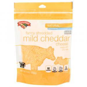 Hannaford 2% Mild Cheddar Cheese Fancy Shredded