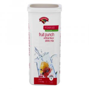 Hannaford Fruit Punch Drink Mix
