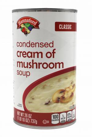 Hannaford Classic Condensed Cream of Mushroom Soup