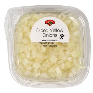 Diced Yellow Onion