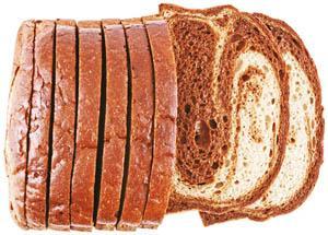 Hannaford 1/2 Marble Rye Panini Loaf