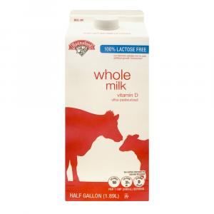 Hannaford Lactose Free Whole Milk