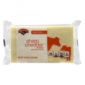 Hannaford Sharp Cheddar White Cheese