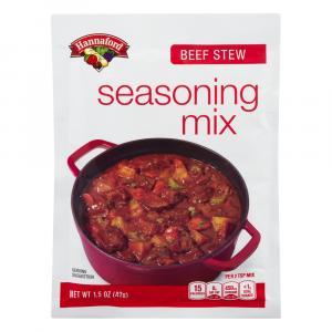 Hannaford Beef Stew Seasoning Mix