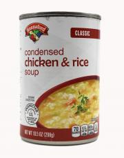 Hannaford Classic Condensed Chicken & Rice Soup
