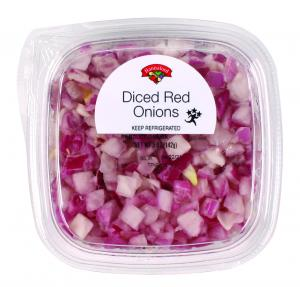 Hannaford Diced Red Onions