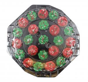 Christmas Mini Cupcake Platter