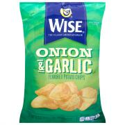 Wise Onion and Garlic Potato Chips