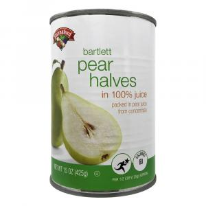 Hannaford Pear Halves in Juice
