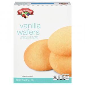 Hannaford Vanilla Wafers