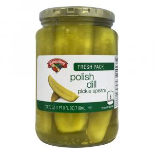 Hannaford Polish Dill Pickle Spears