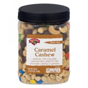 Hannaford Trail Mix Caramel Cashew