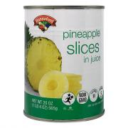 Hannaford Pineapple Slices in Juice