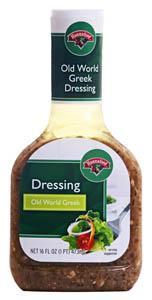 Hannaford Old World Greek Salad Dressing