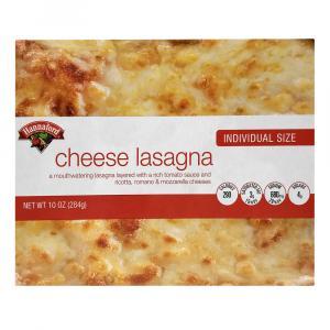 Hannaford Cheese Lasagna