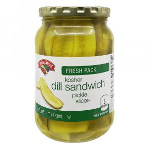 Hannaford Kosher Sandwich Pickle Slices